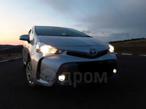 Toyota Prius a, 2015 год, 1 300 000 руб.