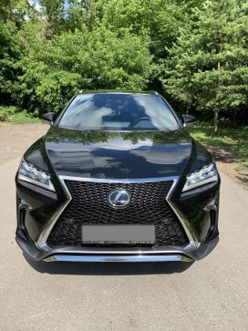 Уфа Lexus RX200t 2017