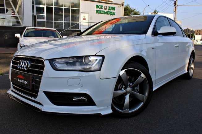 Audi A4, 2013 год, 860 000 руб.