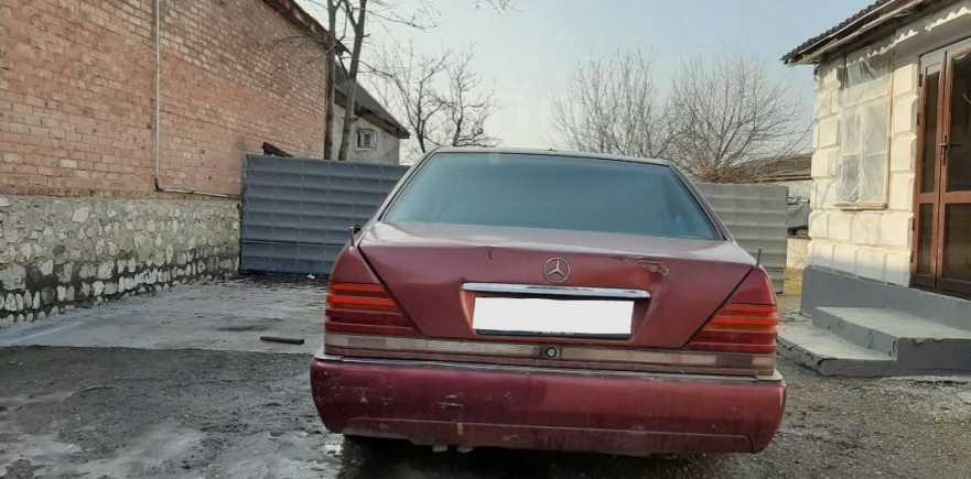 Mercedes-Benz S-Class, 1992 год, 165 000 руб.
