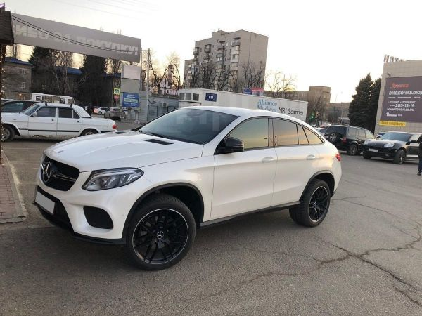 Mercedes-Benz GLE Coupe, 2016 год, 3 550 000 руб.