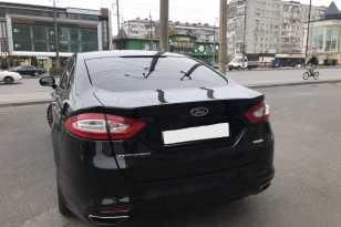 Грозный Ford Mondeo 2016