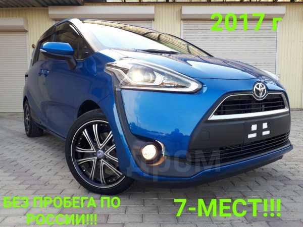 Toyota Sienta, 2017 год, 945 000 руб.