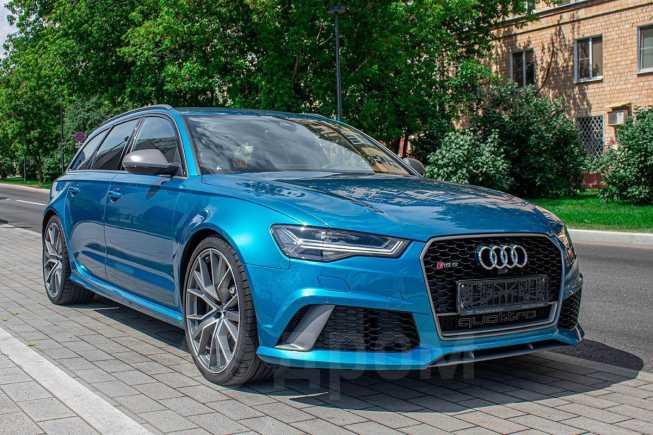 Audi RS6, 2017 год, 5 700 000 руб.