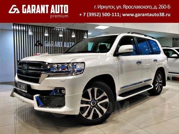 Toyota Land Cruiser, 2020 год, 5 979 000 руб.