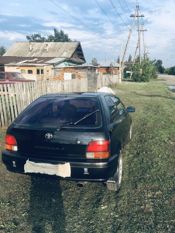 Toyota Corolla II, 1995 год, 95 000 руб.