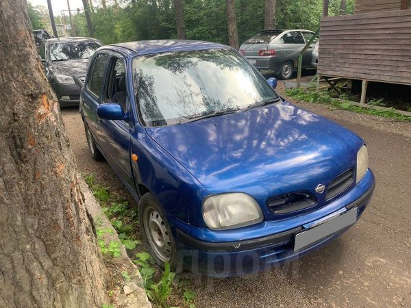 Nissan March, 1999 год, 60 000 руб.