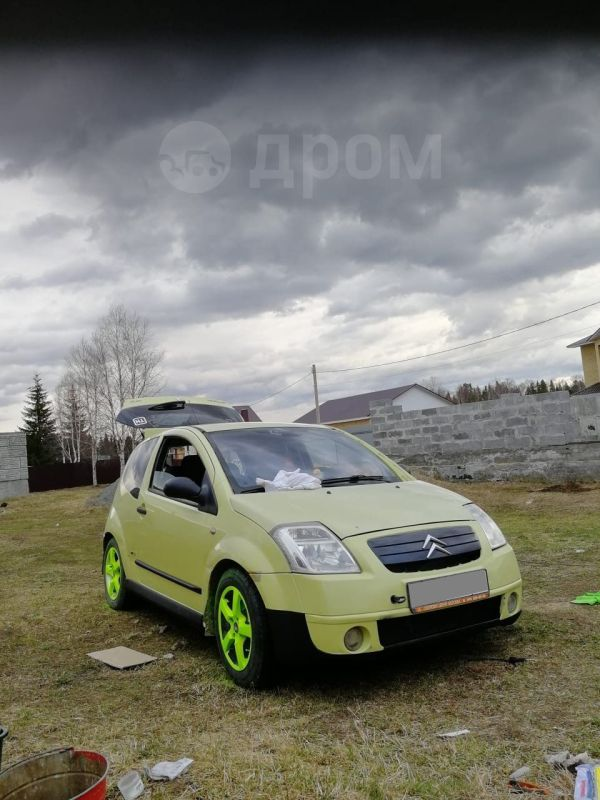 Citroen C2, 2004 год, 130 000 руб.