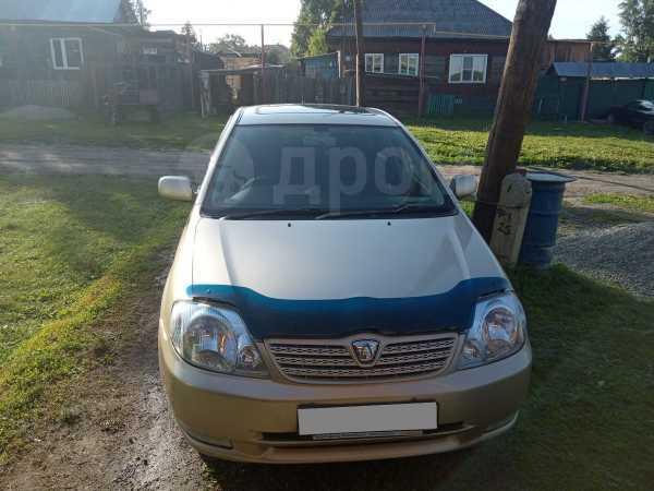 Toyota Allex, 2001 год, 280 000 руб.