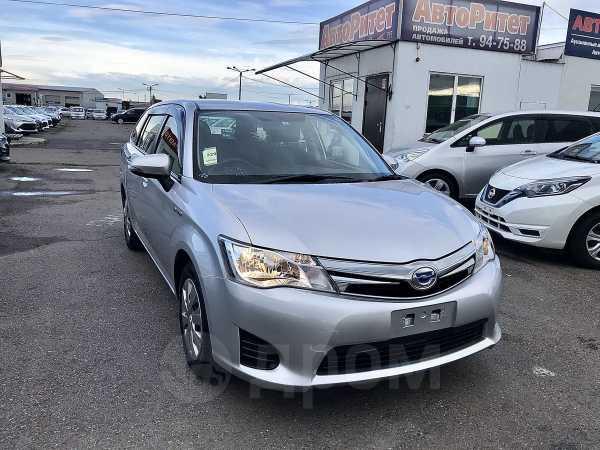 Toyota Corolla Fielder, 2016 год, 687 000 руб.