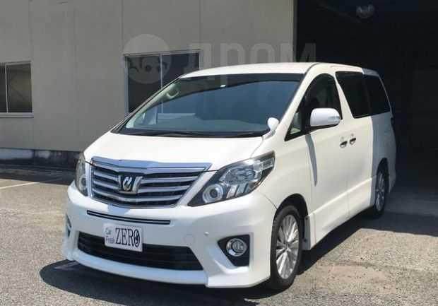 Toyota Alphard, 2012 год, 480 000 руб.