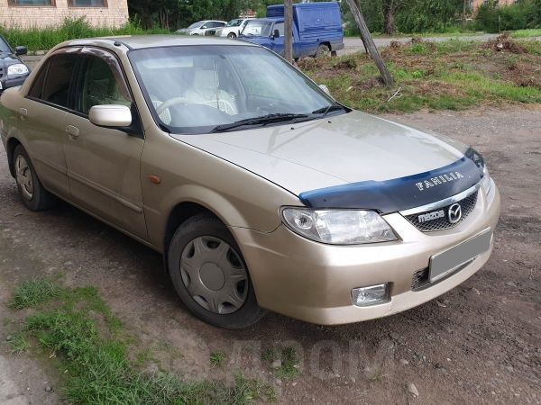 Mazda Familia, 2002 год, 195 000 руб.