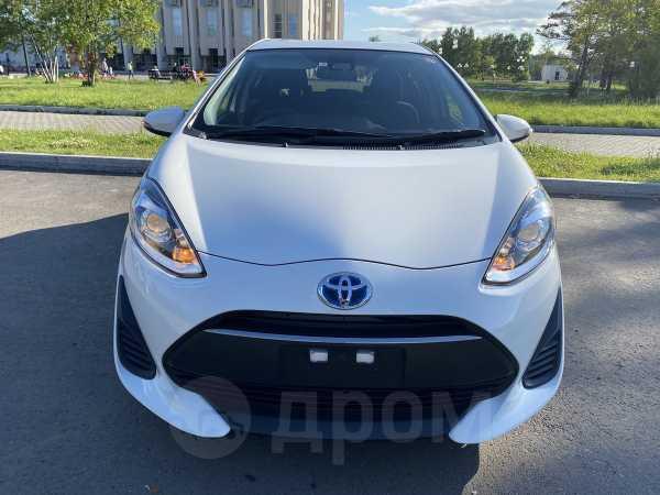 Toyota Aqua, 2017 год, 715 000 руб.