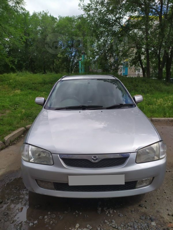 Mazda Familia, 1998 год, 185 000 руб.