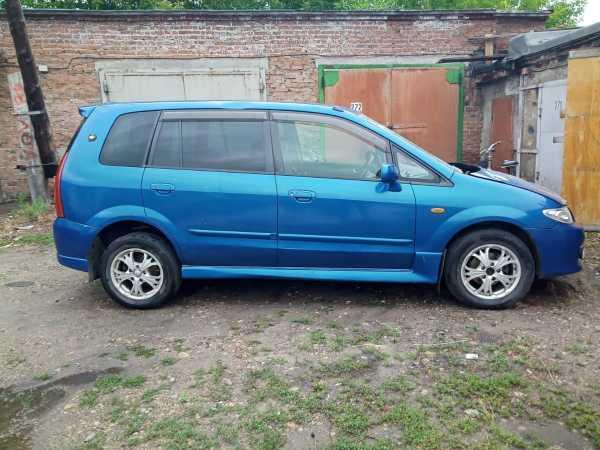 Mazda Premacy, 2001 год, 155 000 руб.