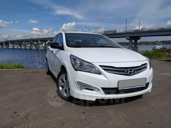 Hyundai Solaris, 2015 год, 487 000 руб.
