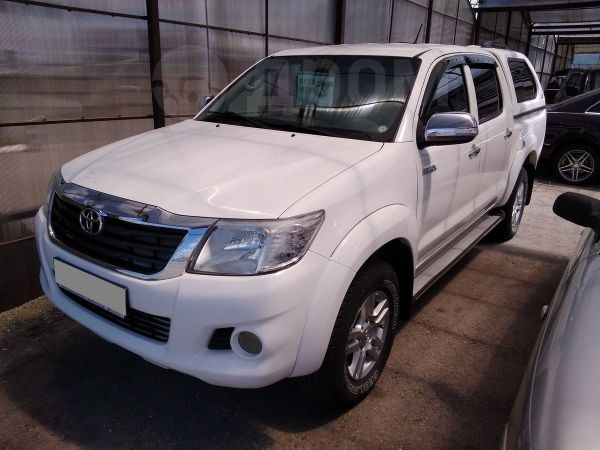 Toyota Hilux Pick Up, 2012 год, 1 120 000 руб.