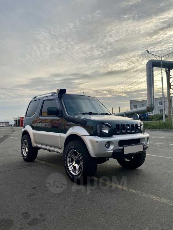 Suzuki Jimny Wide, 2002 год, 490 000 руб.