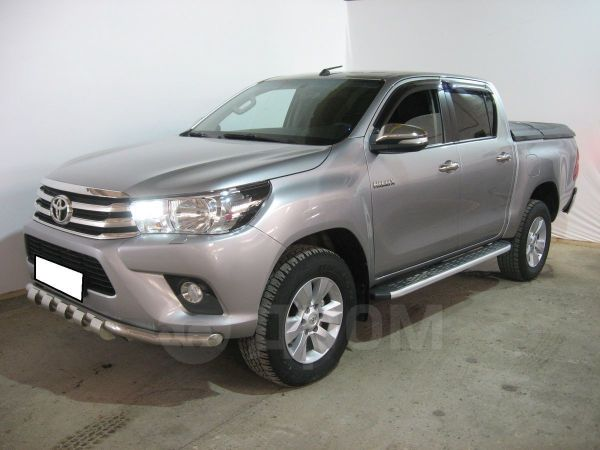 Toyota Hilux Pick Up, 2016 год, 1 740 000 руб.