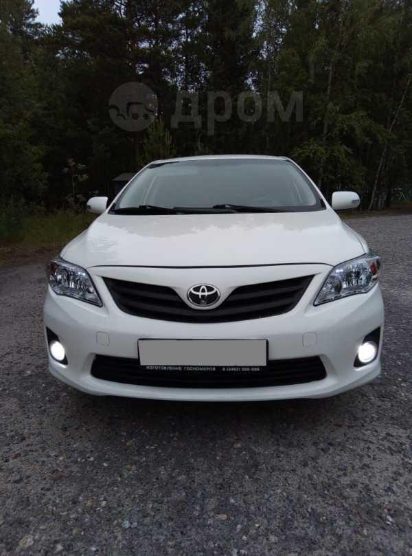 Toyota Corolla, 2012 год, 515 000 руб.