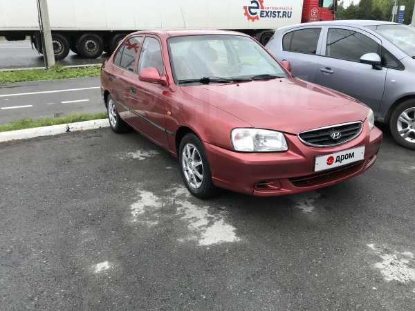 Hyundai Accent, 2003 год, 85 000 руб.