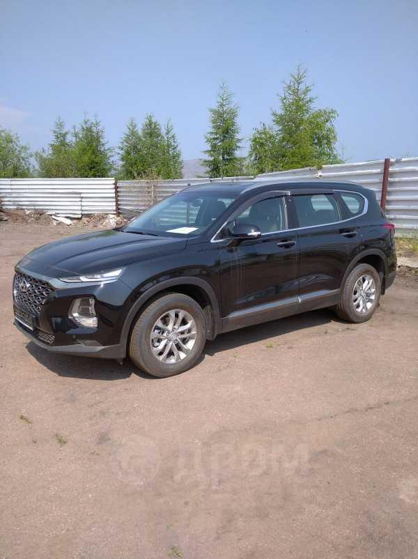 Hyundai Santa Fe, 2019 год, 2 557 000 руб.