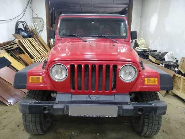 Jeep Wrangler, 2002 год, 970 000 руб.