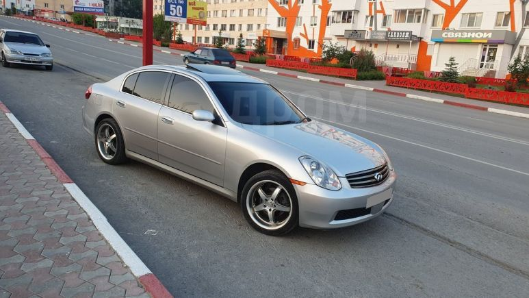 Nissan Skyline, 2005 год, 545 000 руб.