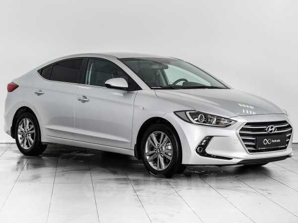 Hyundai Elantra, 2017 год, 1 048 000 руб.