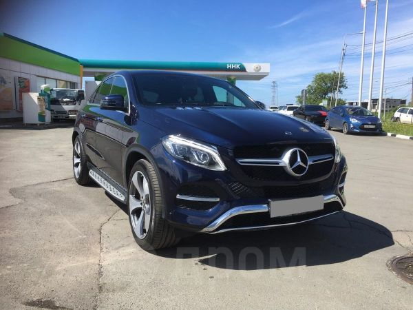 Mercedes-Benz GLE Coupe, 2017 год, 4 500 000 руб.