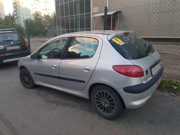 Peugeot 206, 2001 год, 60 000 руб.