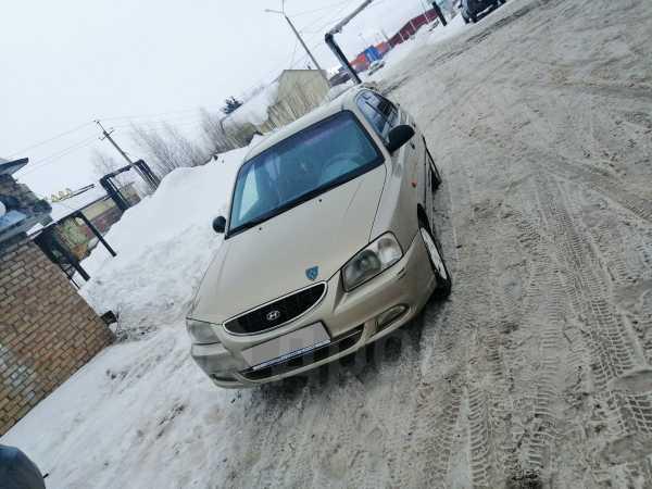 Hyundai Accent, 2005 год, 95 000 руб.