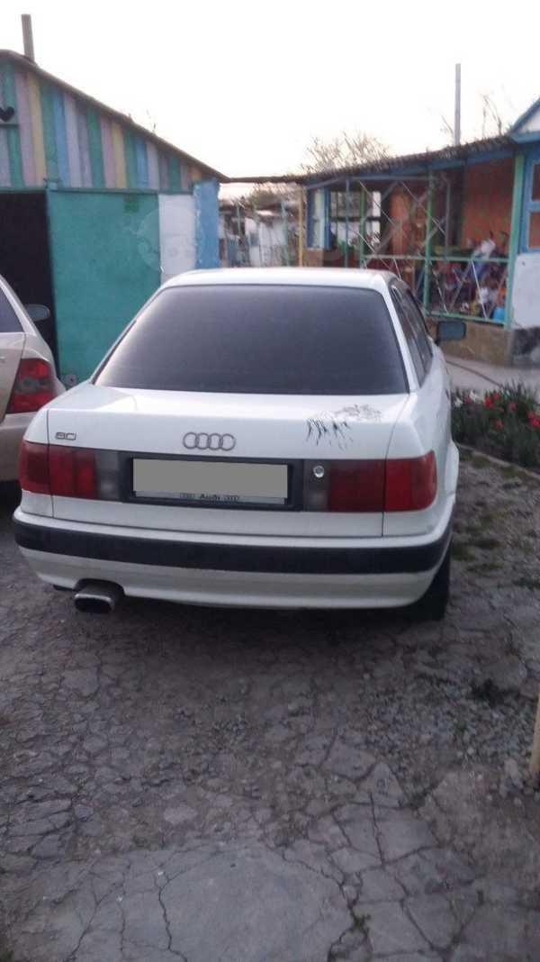 Audi 80, 1992 год, 80 000 руб.