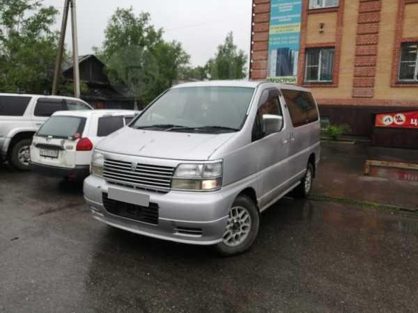 Nissan Elgrand, 1998 год, 380 000 руб.