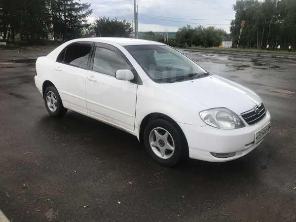 Toyota Corolla, 2001 год, 372 000 руб.