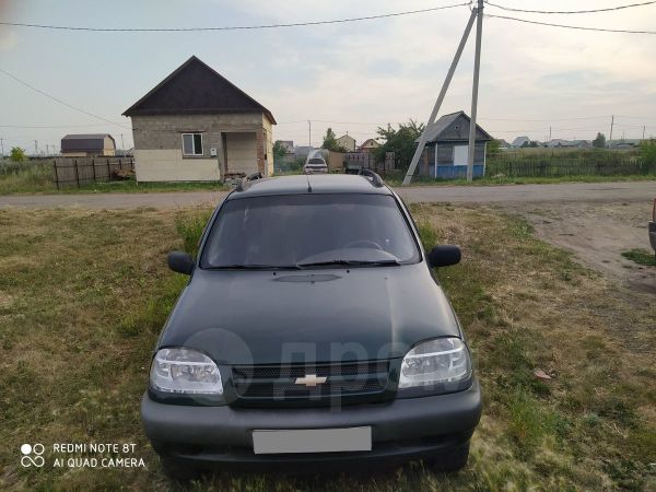 Chevrolet Niva, 2003 год, 110 000 руб.