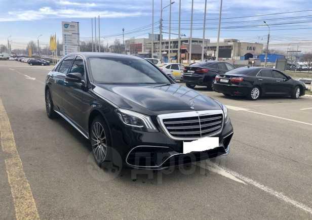 Mercedes-Benz S-Class, 2017 год, 4 499 999 руб.
