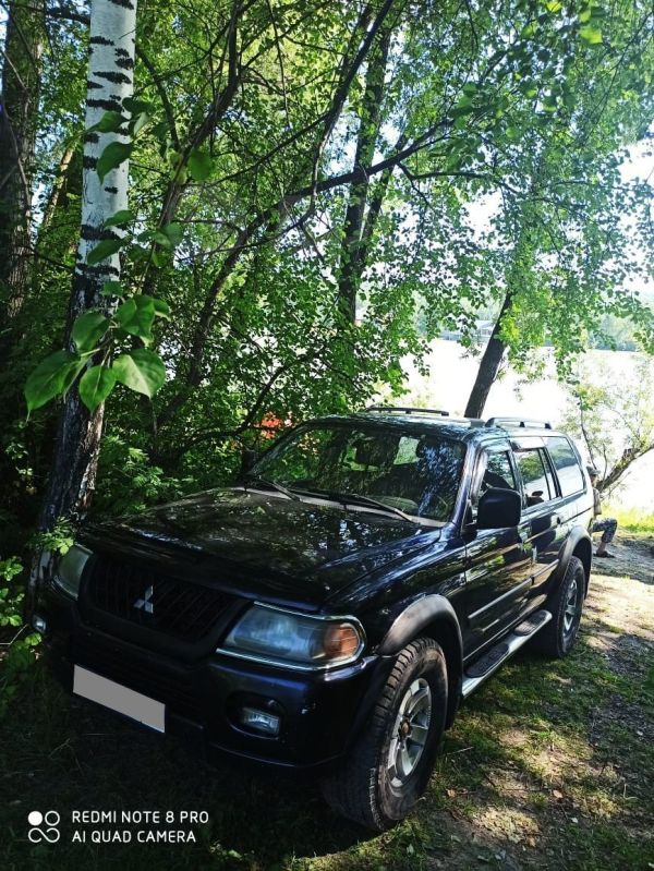 Mitsubishi Montero Sport, 2002 год, 415 000 руб.
