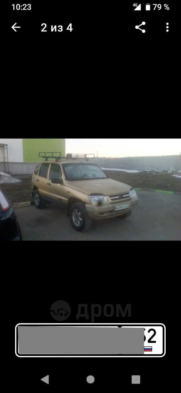 Chevrolet Niva, 2004 год, 105 000 руб.
