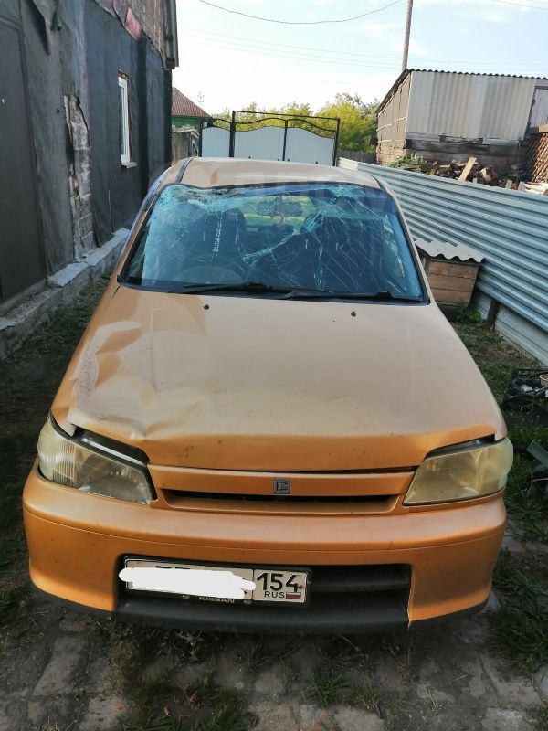 Nissan Cube, 1999 год, 60 000 руб.