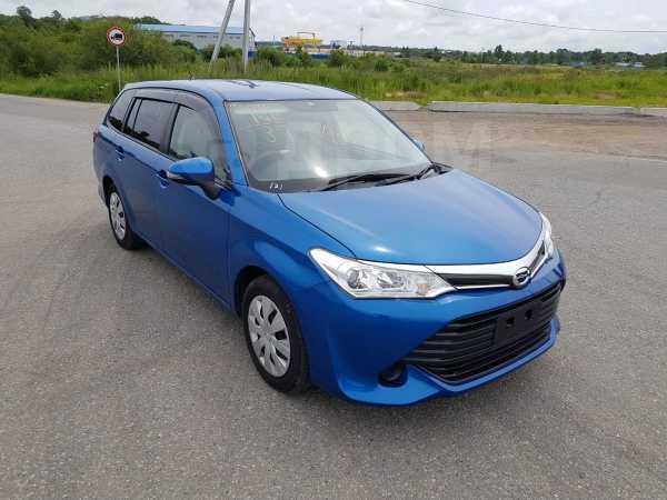 Toyota Corolla Fielder, 2016 год, 755 000 руб.