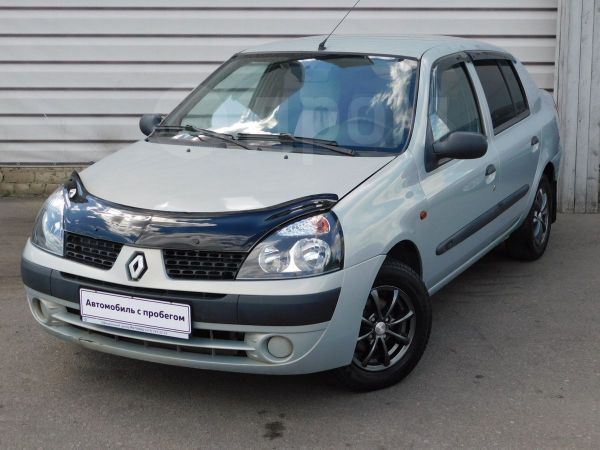 Renault Symbol, 2002 год, 122 900 руб.