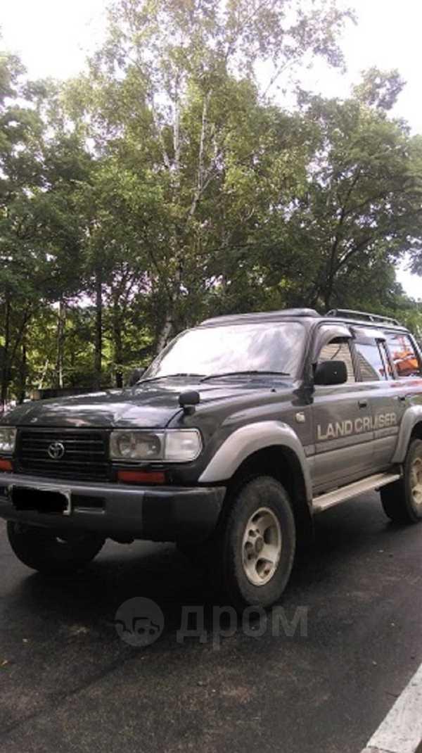Toyota Land Cruiser, 1996 год, 1 100 000 руб.