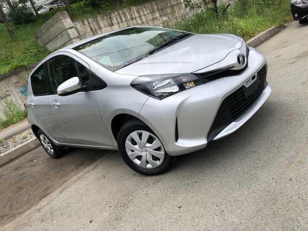 Toyota Vitz, 2016 год, 545 000 руб.