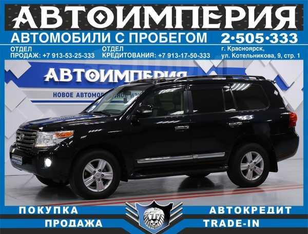 Toyota Land Cruiser, 2013 год, 2 318 000 руб.