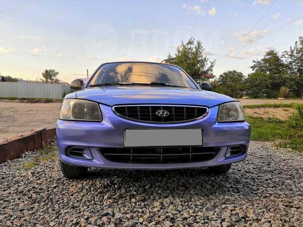 Hyundai Accent, 2005 год, 180 000 руб.