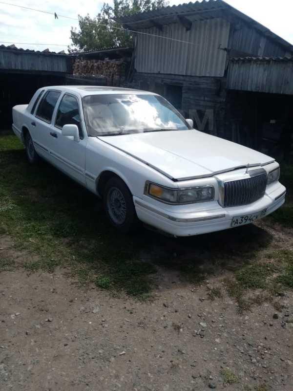 Lincoln Town Car, 1992 год, 120 000 руб.