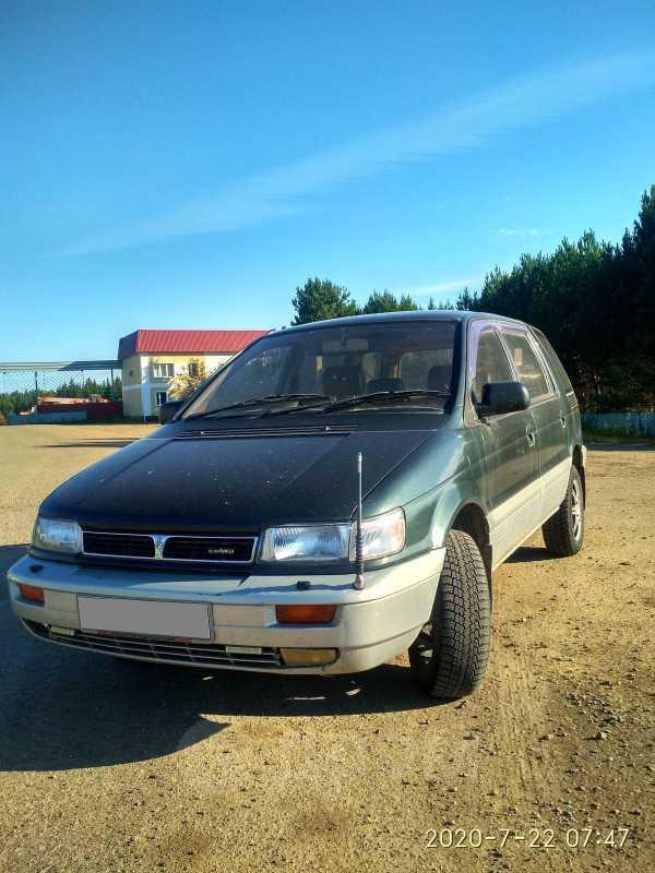 Mitsubishi Chariot, 1994 год, 130 000 руб.