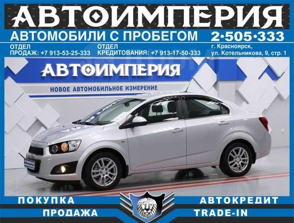 Chevrolet Aveo, 2012 год, 398 000 руб.