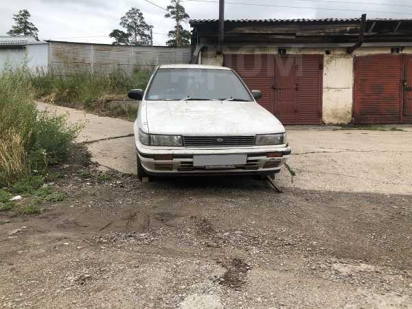 Nissan Bluebird, 1988 год, 55 000 руб.